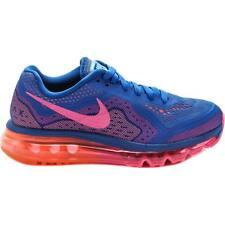 Womens Nike Air Max 2014 SZ 6 Blue Hyper Pink Black 621078-400
