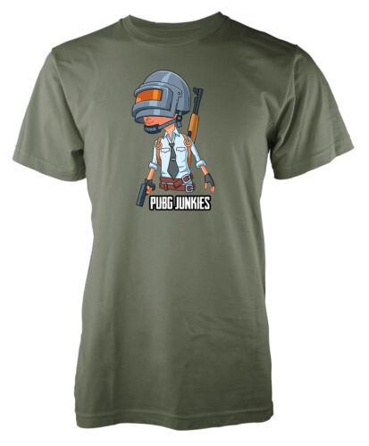 Giocatore sconosciuto campo di battaglia pubg Junkies Kids pubg T-shirt