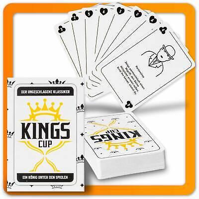 Kings Cup Party Sauspiel - Das Trinkspiel Original