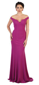 3e36925983 Image is loading SPECIAL-OCCASION-SIMPLE-EVENING-FITTED-GOWN-DESIGNER-OFF-