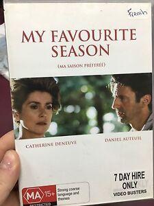 My-Favourite-Season-ex-rental-region-4-DVD-1993-French-drama-movie-rare