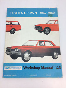 intereurope 125 toyota crown rs series chassis group service and rh ebay com au 2007 Toyota Yaris Diagrams Vehicle Repair Manuals