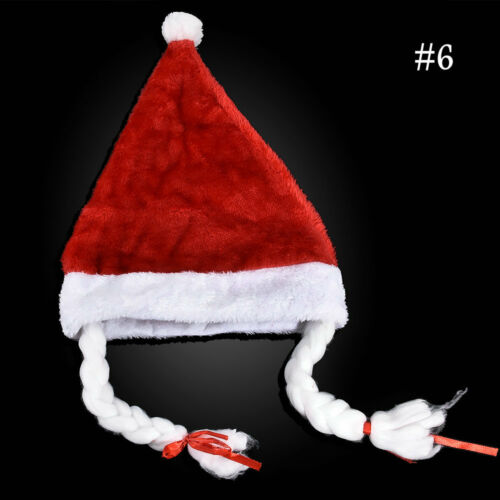 Santa Claus Xmas Costume Hats Merry Christmas Hat Snowflake Snowman for Adults