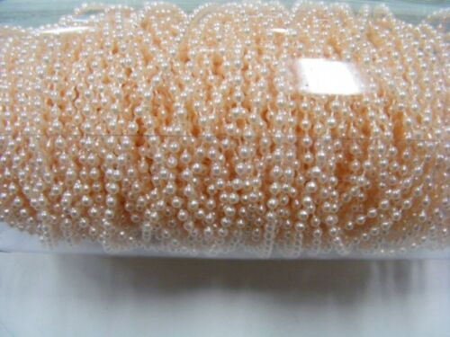 Pearls on String Apricot 2.5mm 45 metres