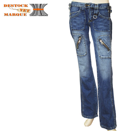 Jeans slim FREEMAN PYNOO taille basse femme