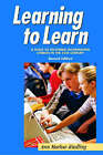 Learning to Learn: A Guide to Becoming Information Literate by Ann Marlow Riedling (Paperback, 2006)