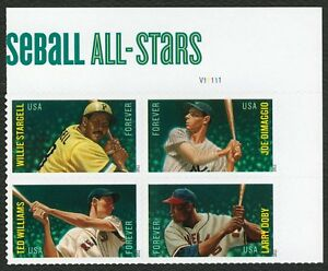 #4697b Mayor Liga Béisbol All-Stars, Placa Bloque [ Ur ] Cualquier 5=