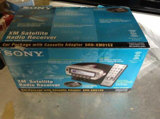 NEW SONY XM SATELLITE RADIO WIRELESS REMOTE RM-XM2