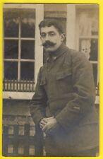 cpa Carte Photo Hans SPAHN à GRAFENWÖHR MILITAIRE SOLDAT du 86ème Rgt Prisonnier