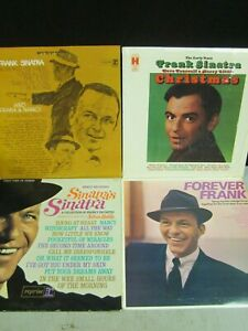 Classic Vinyl Records Frank Sinatra Christmas Forever