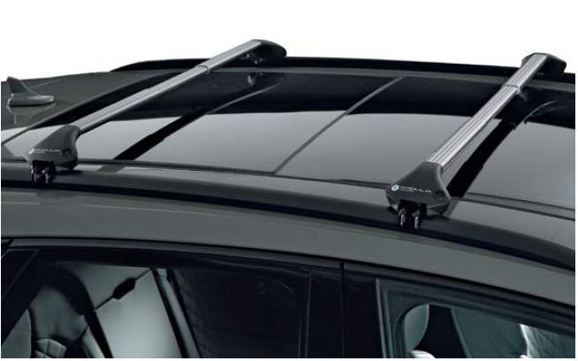 New Aluminium Roof Rack for Integrated Bars Peugeot 308sw 2014-2017 100Kg Bar