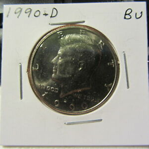 KENNEDY 1990D CIRCULATED FREE SHIPPING NEW