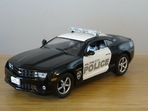 Details about ALTAYA IST HALTOM CITY POLICE CHEVROLET CAMARO SS CAR MODEL  LH04 1:43