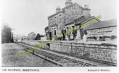 1 Darley Birstwith Railway Station Photo Hampsthwaite Harrogate to Pateley