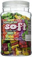 Now And Later Giant Soft Chewy Taffy Candy Assortment Tub (pack Of 120), on sale