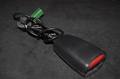 FRONT SEAT BELT BUCKLE LOCK 738699 VOLVO S40 V40 S60 V70 XC70 XC90
