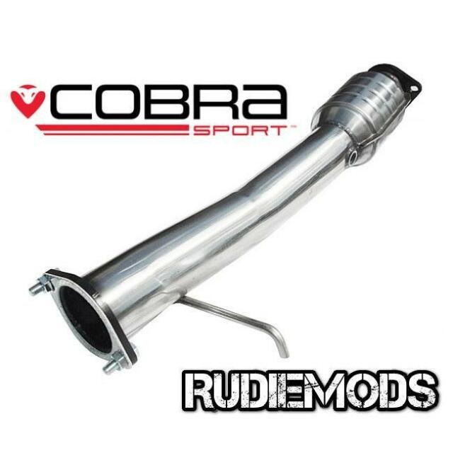 Cobra Sport Ford Focus MK2 05 11 ST225 Stainless Steel High Flow Sports Catalyst