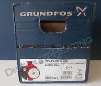 Grundfos Ups 25-80n (180) Hot Water Service Circulator 240v
