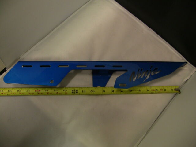 KAWASAKI ZR7 ZR 7 NINJA PROTECTOR CADENA blue 2000 2001 2002 2003