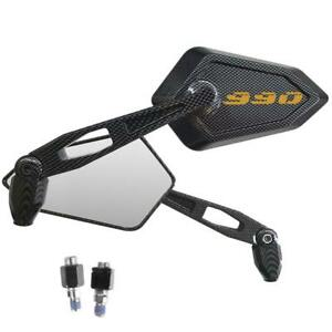 Spiegel-Rueckspiegel-Street-Carbon-Look-Logo-Gold-KTM-990-Adventure-Smt-Superduke