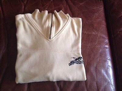 Delizioso Sweat Mixte Mc Neal Sportswear Taille L Jaune Pâle Vintage Fresco In Estate E Caldo In Inverno