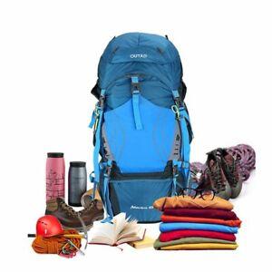 60-5L-Outdoor-Camping-Wandern-Wandern-wasserdichter-Trekking-Backpack-tB