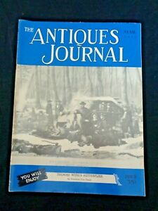 Antiques-Journal-1952-Kentucky-Coin-Silver-Thomas-Webb-Cameo-Art-Glass-Woodall