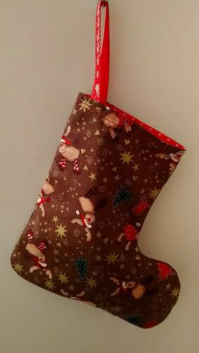 Mini Reversible Christmas Stocking