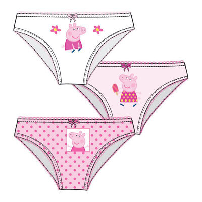 FINAL REDUCTION 2 x Girls Peppa Pig Knickers Age 2//3 4//5 3//4 And 5//6