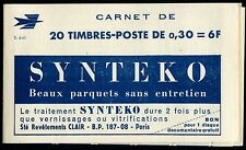 CP247b France Carnet Publicitaire N°1354-C1 Série 6-65 Neuf ** LUXE