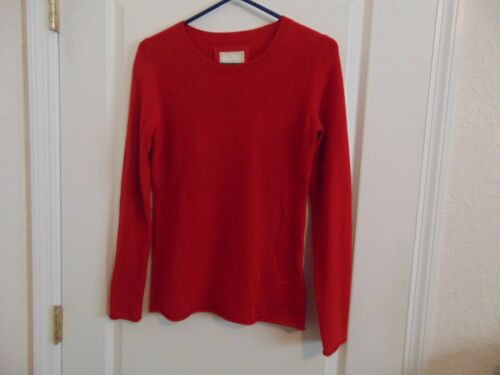 Women's Old Navy Red 100% Cashmere Sweaters-Small