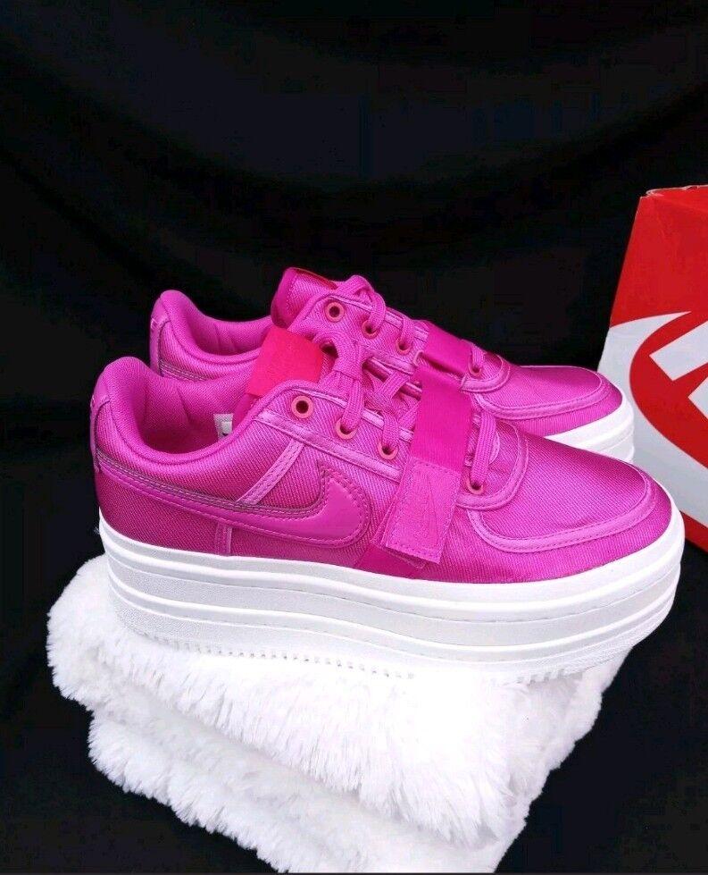 9 WOMEN'S Nike Vandal 2K Double Stack PLATFORM Magenta Magenta Magenta pink White AO2868-500 bd902c