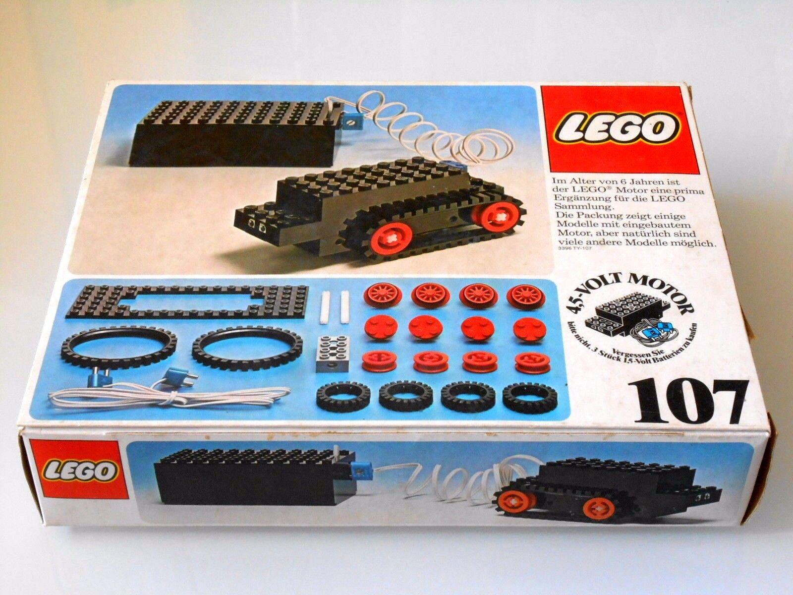 Lego Lego Lego 107 Motor 4 5 Volt mit Batteriekasten-Zubehör   Wie Neu   Blister 72a2bd