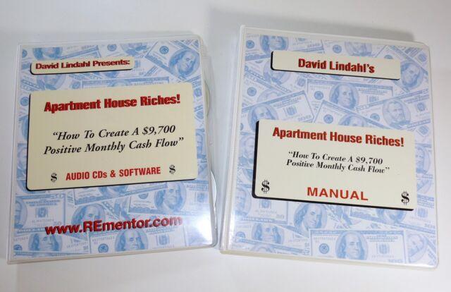 Genuine David Lindahl Apartment House Riches Manual Cds
