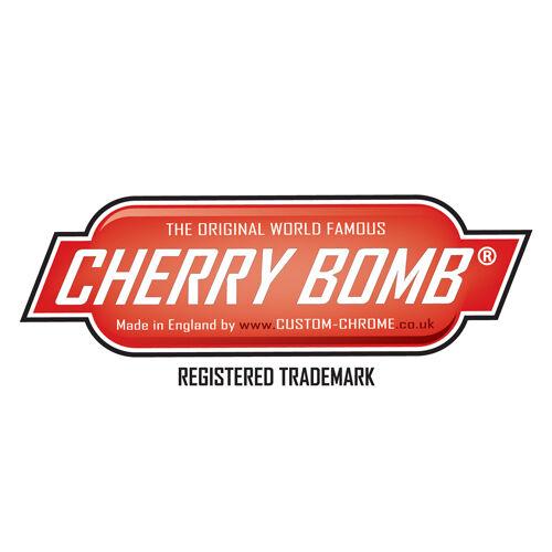 """d/'échappement 18 /""""Corps x 2 1//4/"""" i TM d x 3 /""""cas Cherry bomb"""