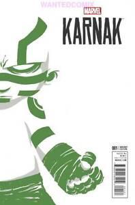 KARNAK #1 SKOTTIE YOUNG BABY VARIANT COVER MARVEL COMIC BOOK NEW 2015