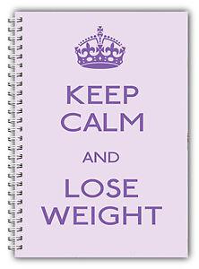 Diat Tagebuch A5 Abnehmen Nahrung Tracker Gewichtsverlust Planer