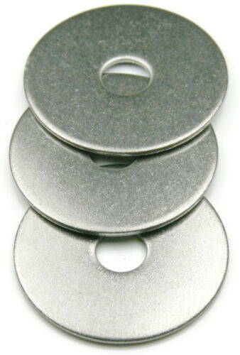 Stainless Steel Fender Washer #10 x 3//4 Qty 100
