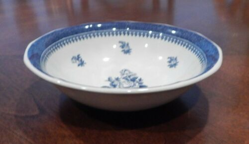 """WEDGWOOD GEORGETOWN COLLECTION /""""SPRINGFIELD/"""" PATTERN COUPE CEREAL BOWL S"""
