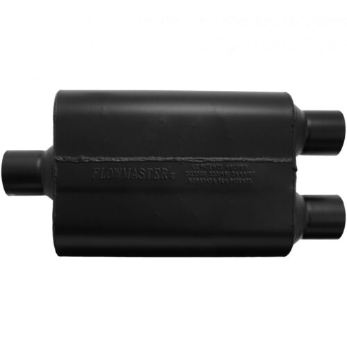 "Flowmaster 9425472 Super 44 Muffler 2.5/"" Center Inlet//2.5/"" Dual Outlet"