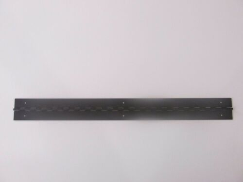anodized aluminum with holes 2 inches by 20 inches Continuous Piano Hinge