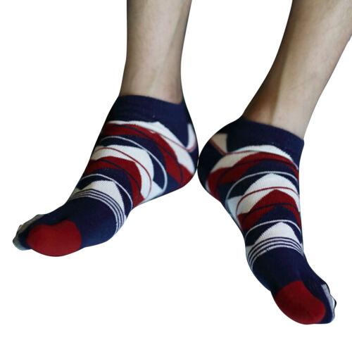 Hot Sale New Men/'s Women/'s Socks Cotton Sports Five Finger Socks Toe Socks nh