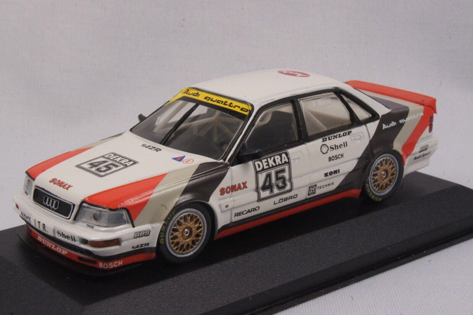 1st Edition Minichamps 1 43 -  Audi v8 QUATTRO EVO DTM'91  45 F. Biela ITR  mieux acheter