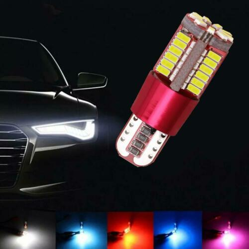 T10-3014-57SMD Bright LED Canbus Error Free Car Wedge Light Bulb Lamp Blue