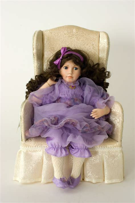 Lavender Dreams Porcelain Doll