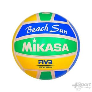 Dettagli su Pallone Beach Volley Sun Mikasa VXS BS V2
