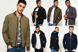 New-Mens-Superdry-Jackets-Selection-Various-Styles-amp-Colours-081118