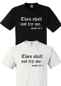 Thou Shall Not Try Me Mood 24:7 Accessory Pouches