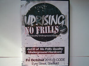 UPRISING-02-10-15-NO-FRILLS-CODE-SHEFFIELD-4-PACK-CDs