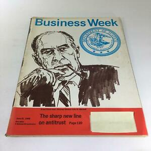 Business-Week-Magazine-Jun-21-1969-The-Sharp-New-Line-Of-Antitrust